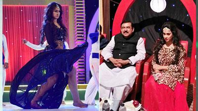 গানের শুটিংয়ে নৌমন্ত্রী শাজাহান খান