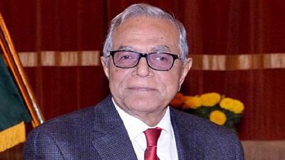 ২১তম রাষ্ট্রপতি হিসেবে শপথ নিলেন আবদুল হামিদ