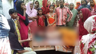 গ্রাম্য সালিসে অপবাদ দেওয়ায় স্কুলছাত্র রাব্বির করুণ মৃত্যু