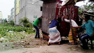দখলদারদের খপ্পরে রানা প্লাজার জায়গা
