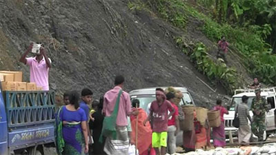 রাঙামাটি-চট্টগ্রাম সড়কে যান চলাচল শুরু
