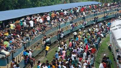 পাঁচ রেলস্টেশনে বুধবার থেকে মিলবে ঈদের টিকিট