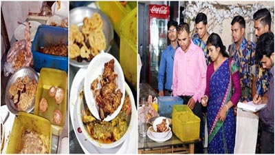 পচা-বাসি ইফতার: ক্যাফে ধানমন্ডি, সুচিলি ও বিয়ে বাড়ি বন্ধ