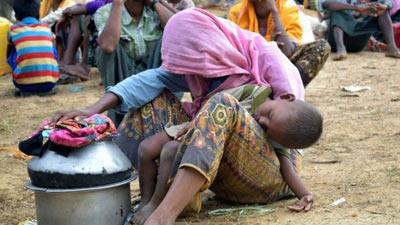 লন্ডনে মিয়ানমার দূতাবাস ঘেরাও প্রবাসী বাংলাদেশিদের
