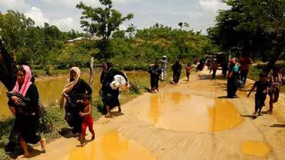 জনস্রোতে ঢুকছে রোহিঙ্গারা, ঝুঁকিতে জননিরাপত্তা