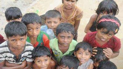 রোহিঙ্গা শিশুদের তালিকাভুক্ত করছে সরকার