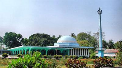 আধুনিক স্থাপত্যের গৌরবোজ্জ্বল নিদর্শন রাবি মসজিদ