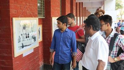 রাবিতে 'বঙ্গবন্ধু ও বাংলাদেশ' শীর্ষক আলোকচিত্র প্রদর্শনী শুরু