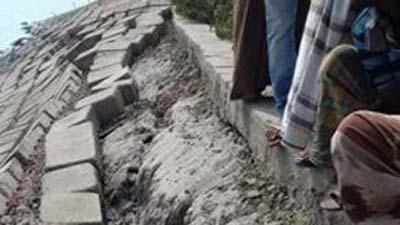 নদী ভাঙন আতঙ্কে ৩৫ গ্রামের মানুষ