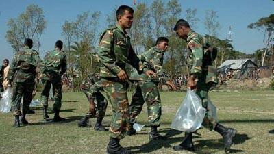 রোহিঙ্গাদের পুনর্বাসনে কাজ করেছে সেনাবাহিনী