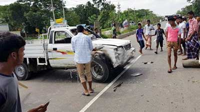 উল্লাপাড়ায় ঈদগাহে সংঘর্ষে আহত দু'জনের মৃত্যু