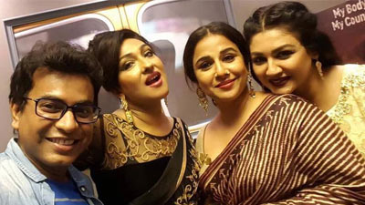 জয়ার অভিনয় দেখে 'বাকরুদ্ধ' বিদ্যা বালান!