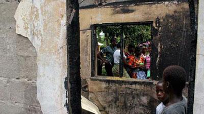 আবাসিক স্কুলে অগ্নিকাণ্ড, ঘুমন্ত ২৭ শিক্ষার্থী পুড়ে অঙ্গার