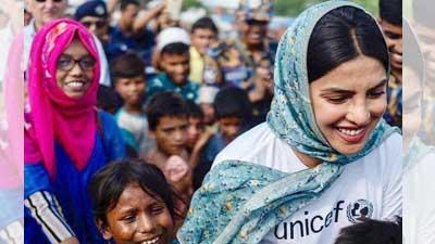 রোহিঙ্গা ক্যাম্পে প্রিয়াঙ্কা, সমালোচনার ঝড় ভারতে