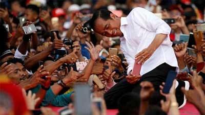 ফের ইন্দোনেশিয়ায় প্রেসিডেন্ট নির্বাচিত হলেন জোকো উইদোদো