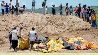 ইন্দোনেশিয়ায় মৃতের সংখ্যা ১৪০০ ছাড়িয়েছে