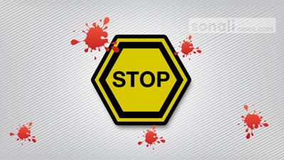 রাজধানীতে বাস চাপায় অটোরিকশা চালক নিহত