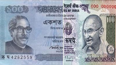 ভারতীয় রুপির রেকর্ড মূল্যপতন, বিপরীতে শক্তিশালী টাকা