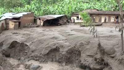 উগান্ডায় ভূমিধসে নিহত অন্তত অর্ধশত