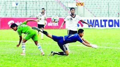 অনূর্ধ্ব-১৮ ফুটবল মাঠে গড়াচ্ছে বৃহস্পতিবার