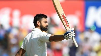 ভারতকে একাই টানছেন, ১৫২ রানে অপরাজিত কোহলি