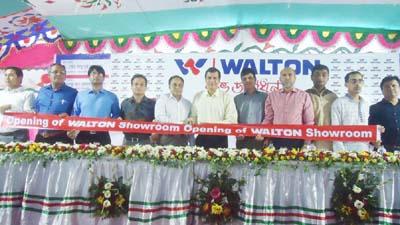 পটুয়াখালীতে ওয়ালটনের শো-রুম উদ্বোধন