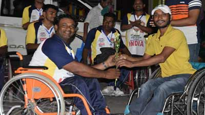 'বাংলাদেশ-ভারত হুইলচেয়ার ক্রিকেট সিরিজ'